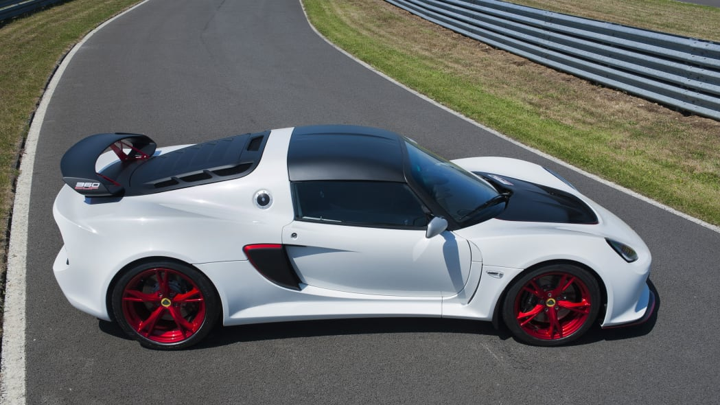 white lotus exige 360 cup profile