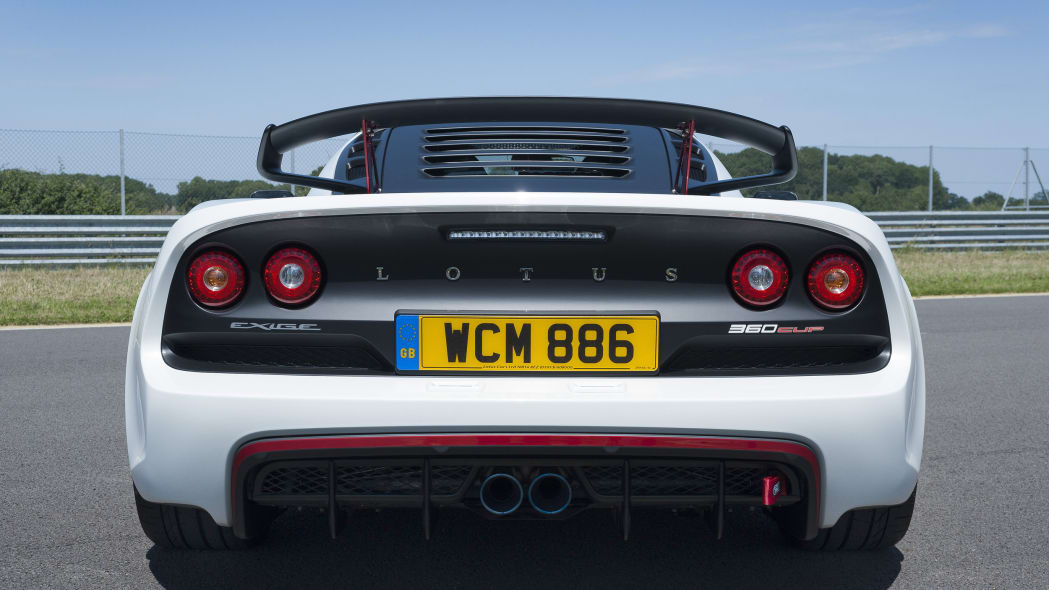 white lotus exige 360 cup back