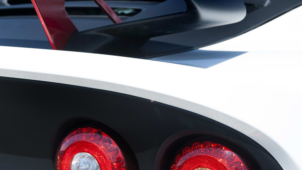 white lotus exige 360 cup rear detail