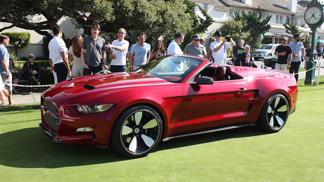 Galpin-Fisker Rocket Speedster at Pebble Beach