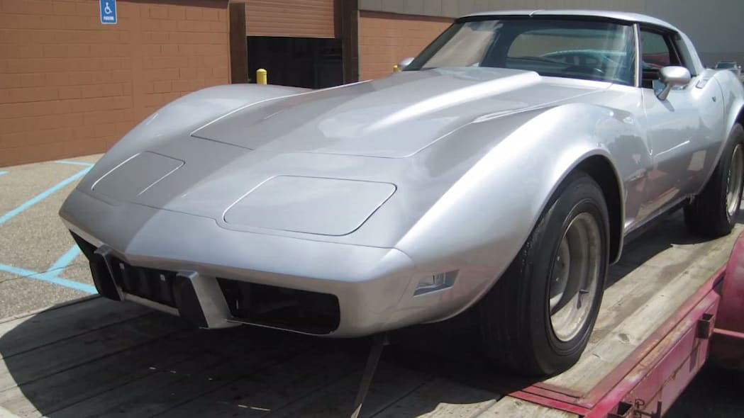 recovered 1979 chevy corvette