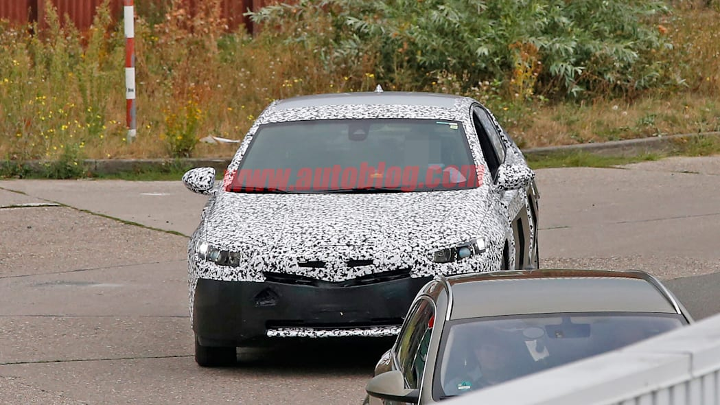 front end camo opel buick insignia 2017