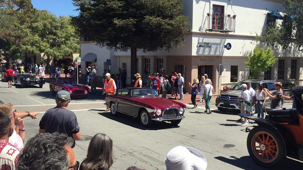 2015 Pebble Beach Tour D'Elegance, 1/4 | Autoblog Short Cuts