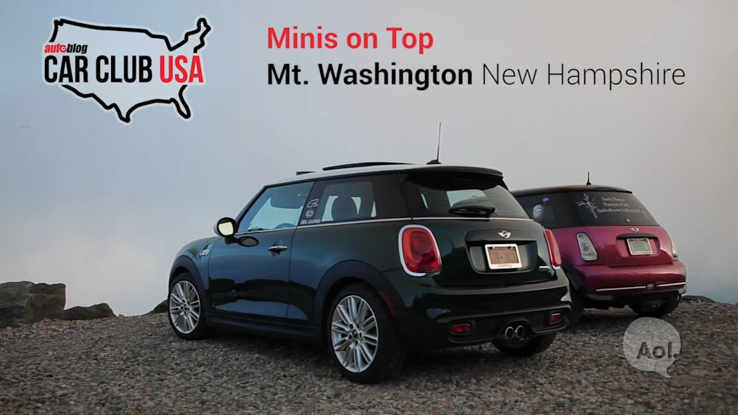 Minis On Top | Mt. Washington, NH | Car Club USA