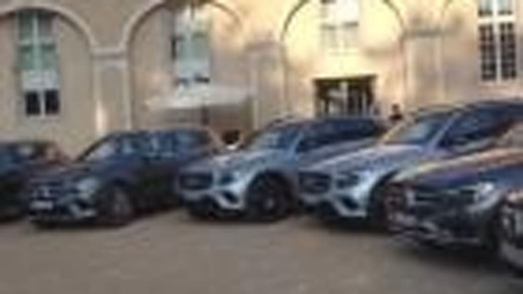2016 Mercedes-Benz GLC in Switzerland and France | On Location