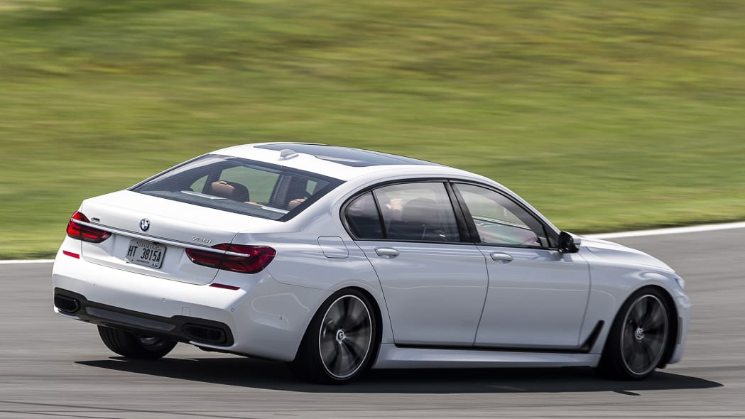 2016 BMW 7 Series on track