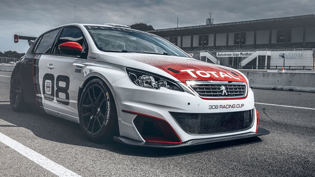 peugeot 308 racing cup profile front