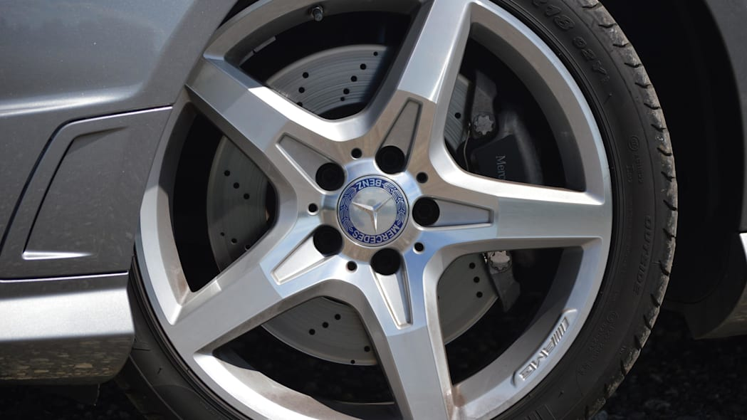 2015 mercedes-benz slk250 wheel
