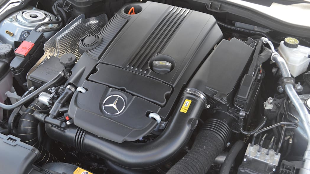 2015 mercedes-benz slk250 1.8-liter engine