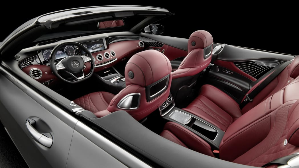 interior s-class s550 cabriolet mercedes convertible