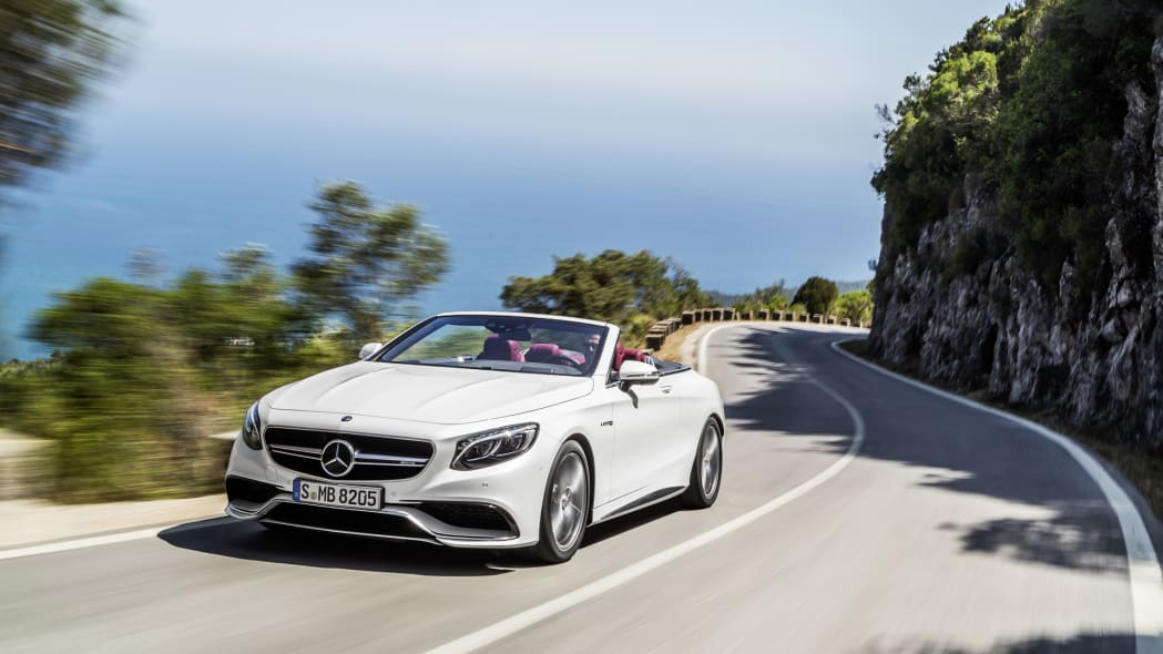 mercedes-amg s-class cabriolet convertible s63