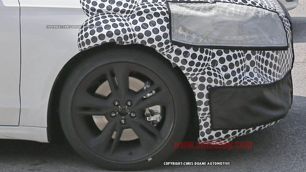 Ford Fusion ST spied wheel