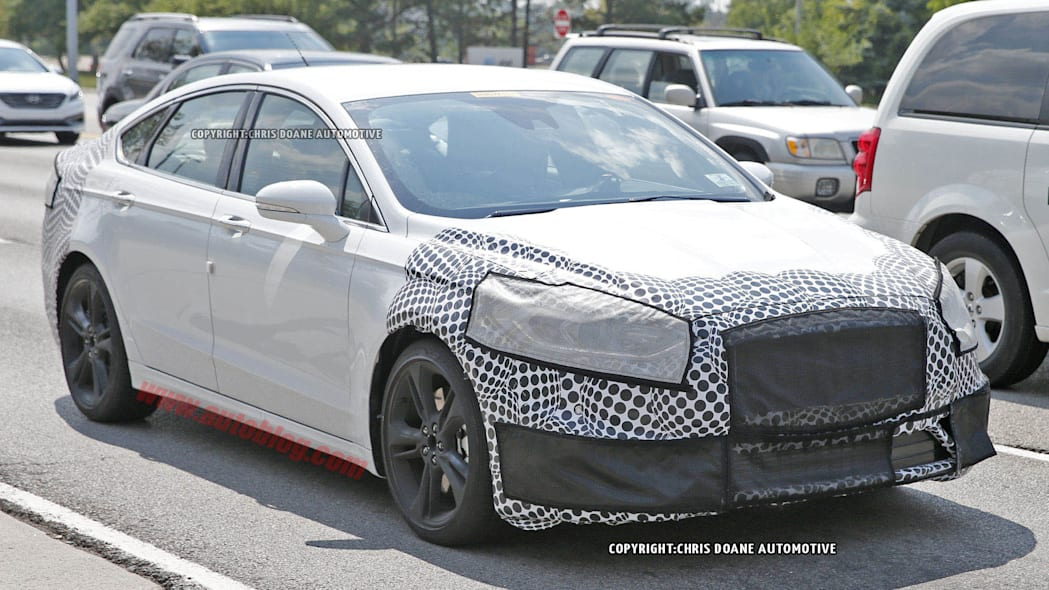 Ford Fusion ST spied front 3/4