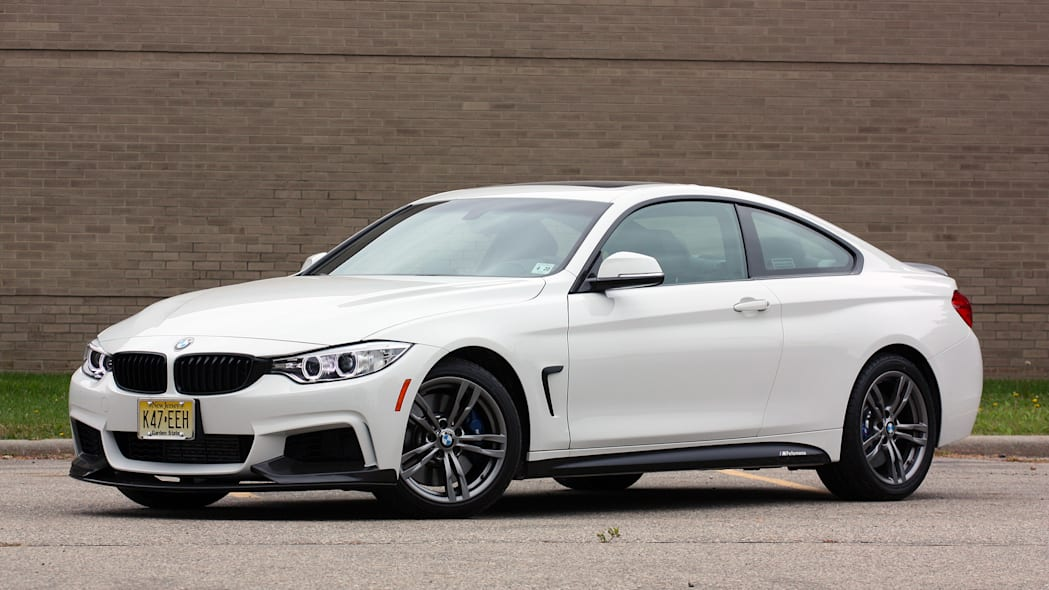 2016 BMW 435i ZHP Coupe front 3/4