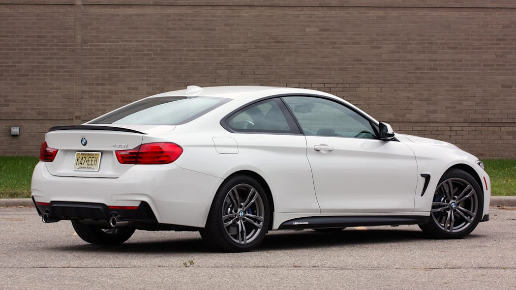 2016 BMW 435i ZHP Coupe rear 3/4