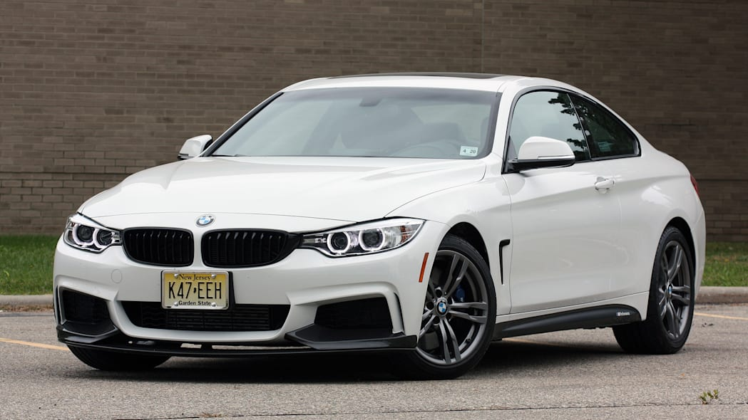2016 BMW 435i ZHP Coupe front 3/4 tight