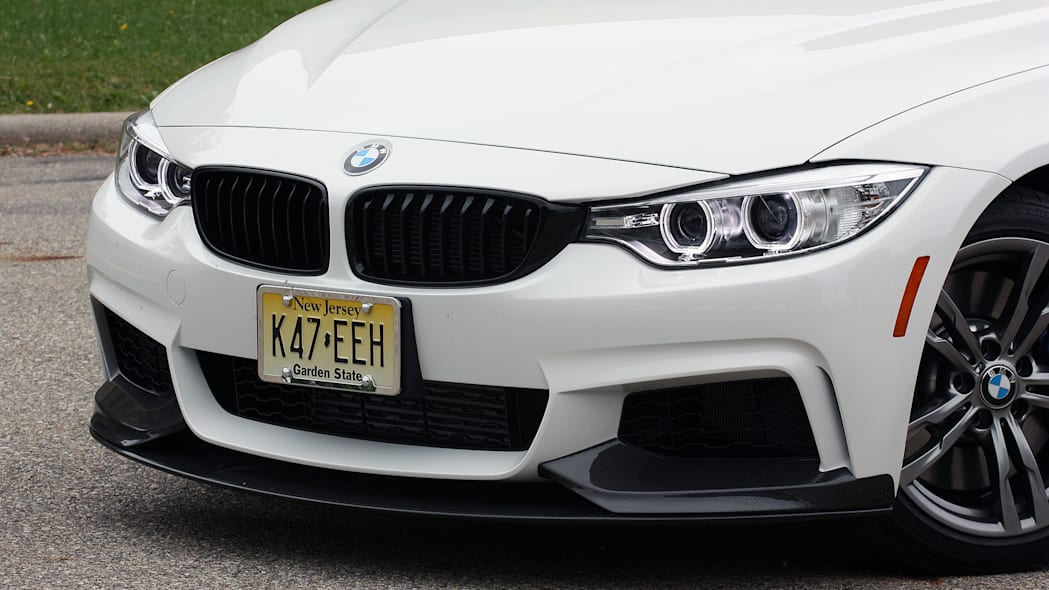 2016 BMW 435i ZHP Coupe front fascia