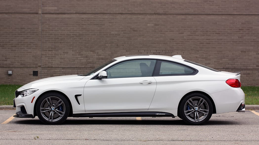 2016 BMW 435i ZHP Coupe side profile