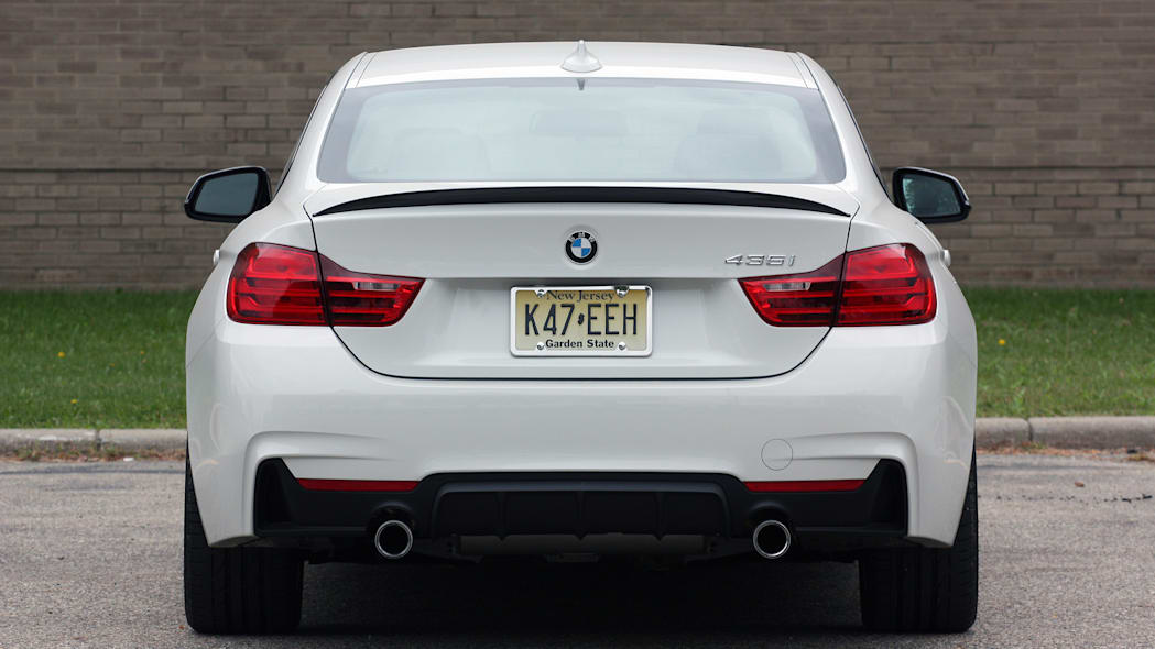2016 BMW 435i ZHP Coupe dead rear