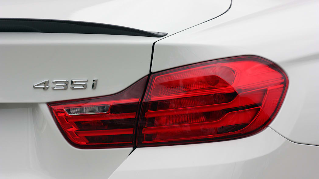 2016 BMW 435i ZHP Coupe taillights