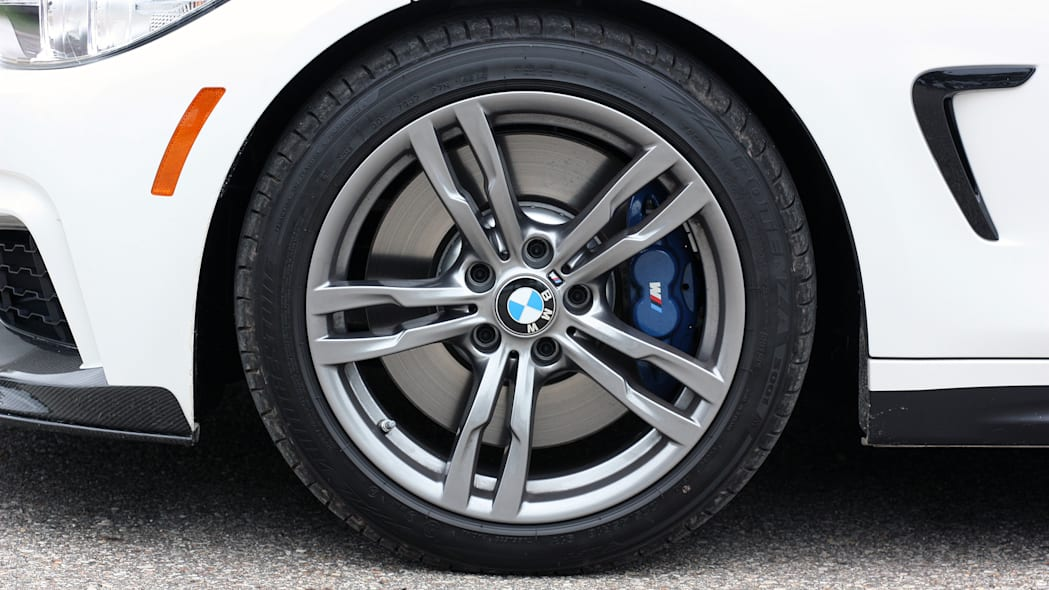 2016 BMW 435i ZHP Coupe wheel and tire