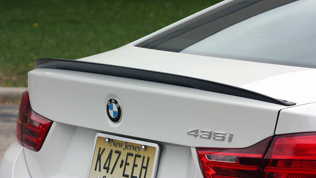 2016 BMW 435i ZHP Coupe rear spoiler
