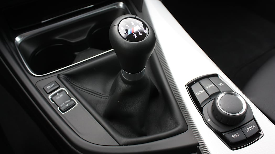 2016 BMW 435i ZHP Coupe shifter
