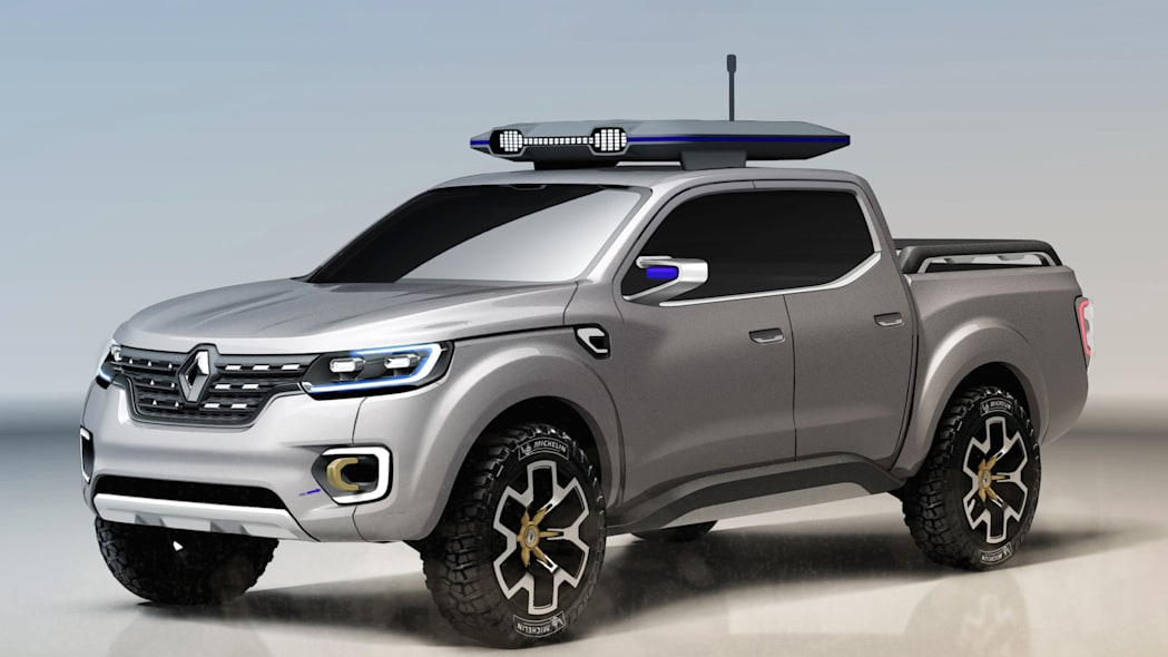 renault truck alaksan concept pickup