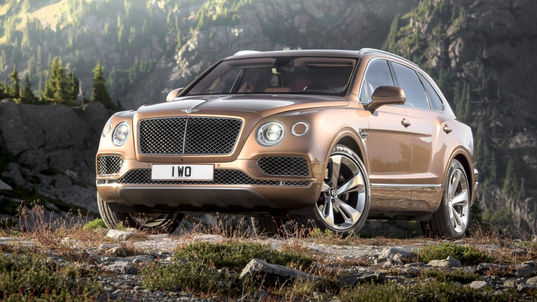 Bentley Bentayga front 3/4 static
