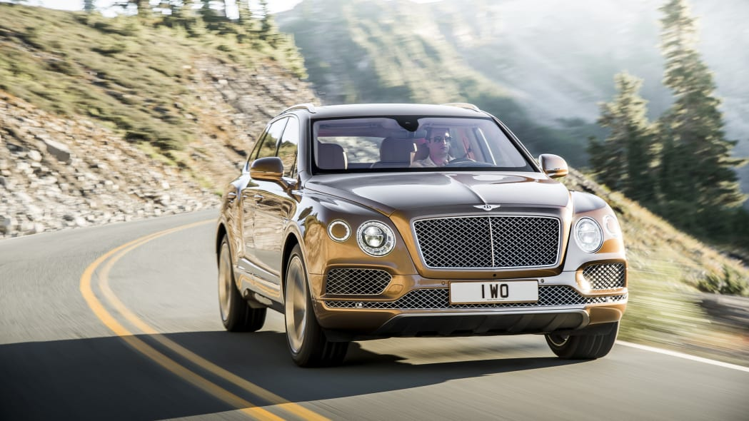 Bentley Bentayga front 3/4
