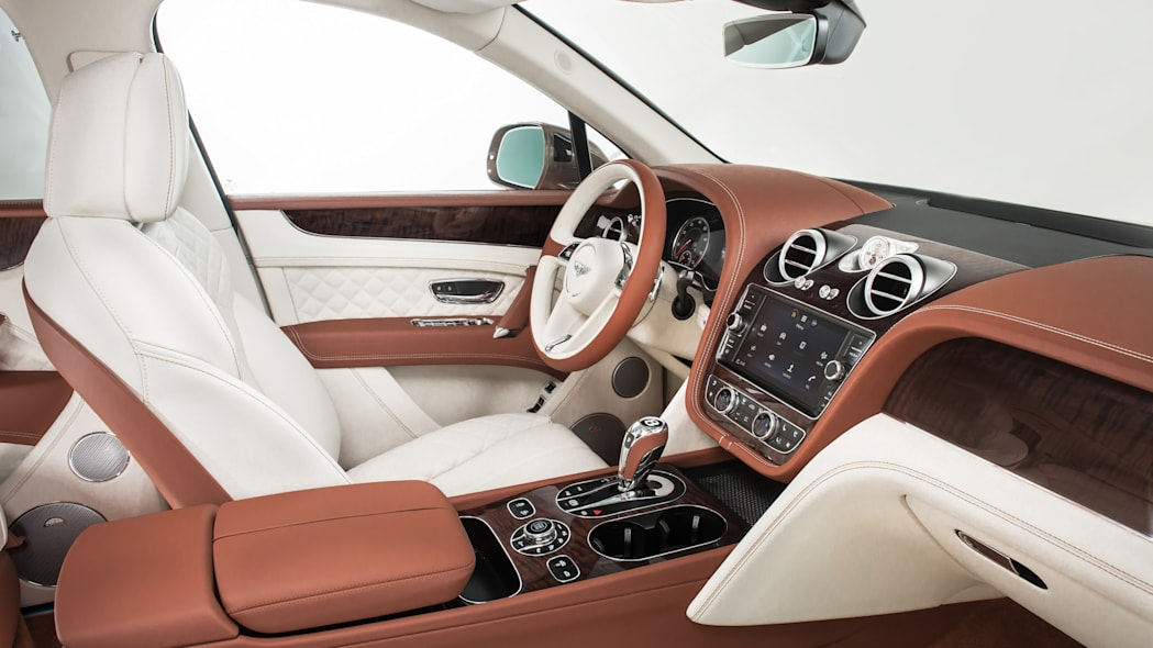 Bentley Bentayga interior light