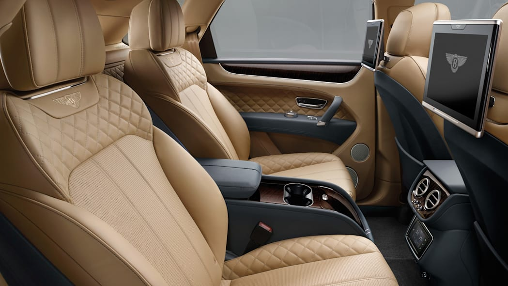 Bentley Bentayga interior rear seats
