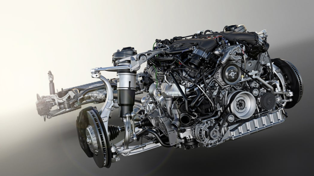 Bentley Bentayga W12 engine