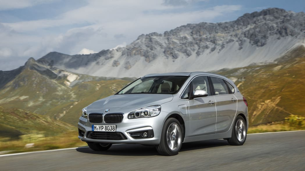 bmw 225xe on road
