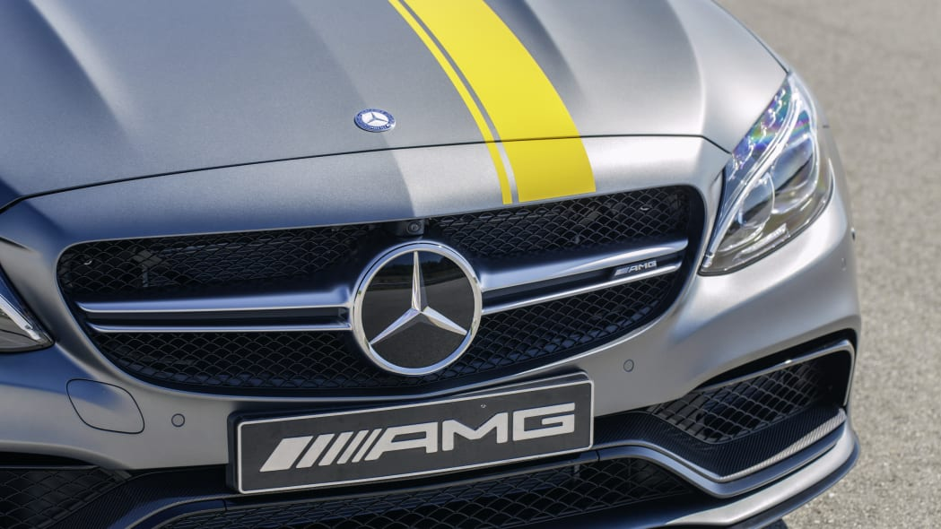 Mercedes-AMG C63 Coupe Edition 1 hood