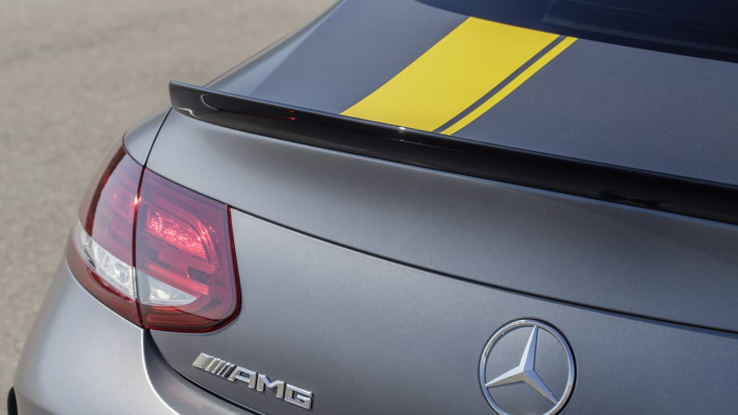 Mercedes-AMG C63 Coupe Edition 1 tail spoiler