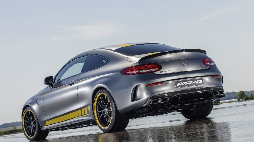 Mercedes-AMG C63 Coupe Edition 1 rear 3/4