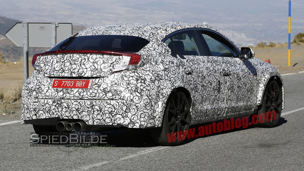 honda civic type r back spy shot