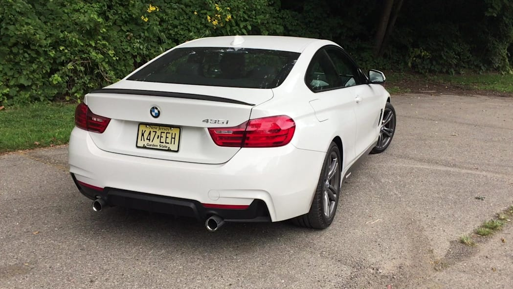 2016 BMW 435i ZHP Edition Coupe Rear Details | Autoblog Short Cuts