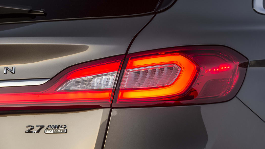 2016 Lincoln MKX taillight