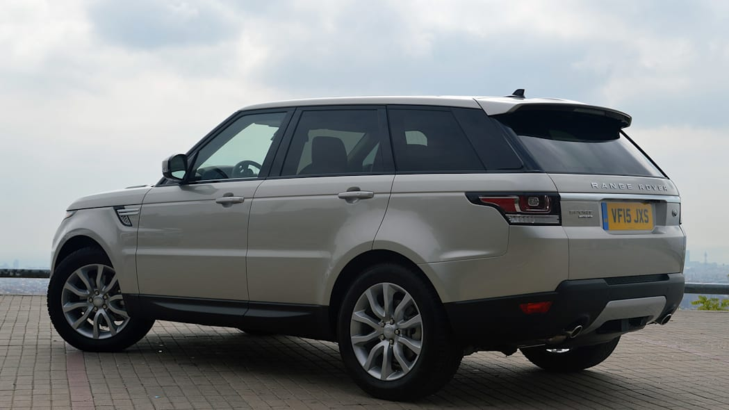 2016 Land Rover Range Rover Sport Td6 rear 3/4 view