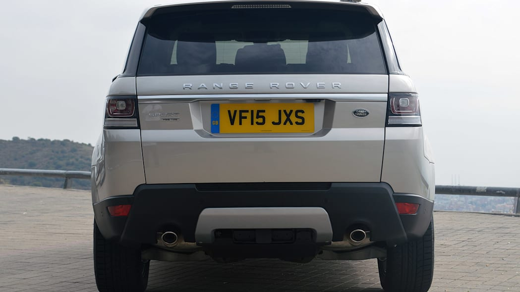 2016 Land Rover Range Rover Sport Td6 rear view