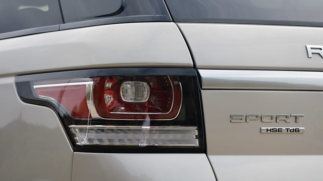2016 Land Rover Range Rover Sport Td6 taillight