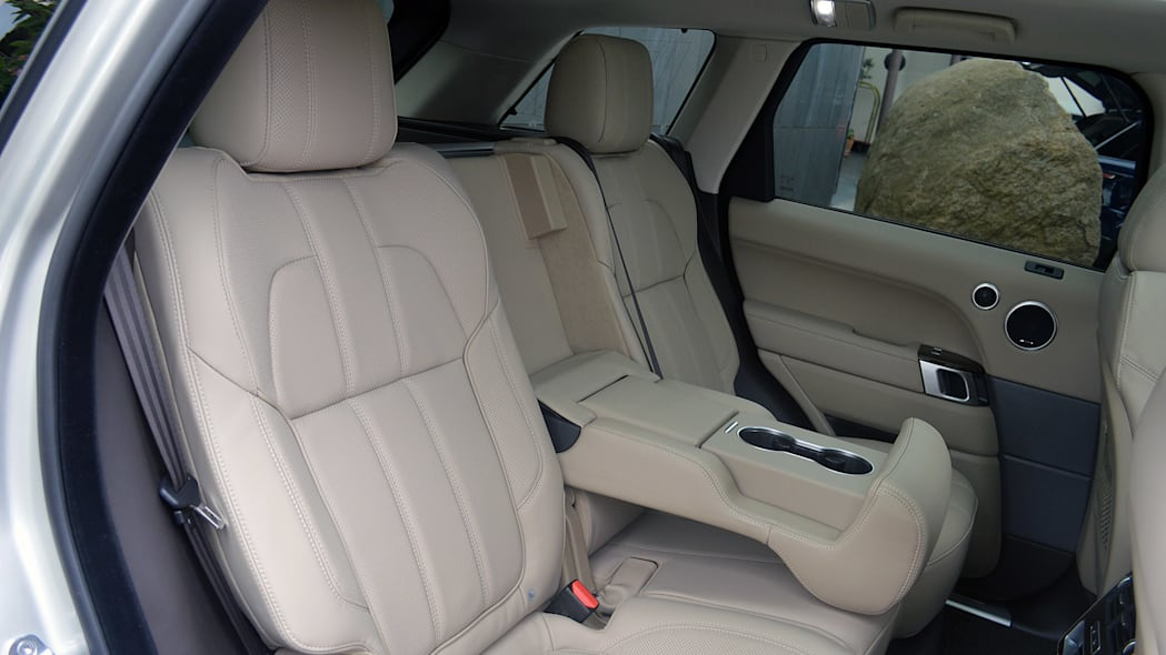 2016 Land Rover Range Rover Sport Td6 rear seats