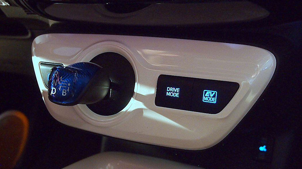 2016 Toyota Prius shifter