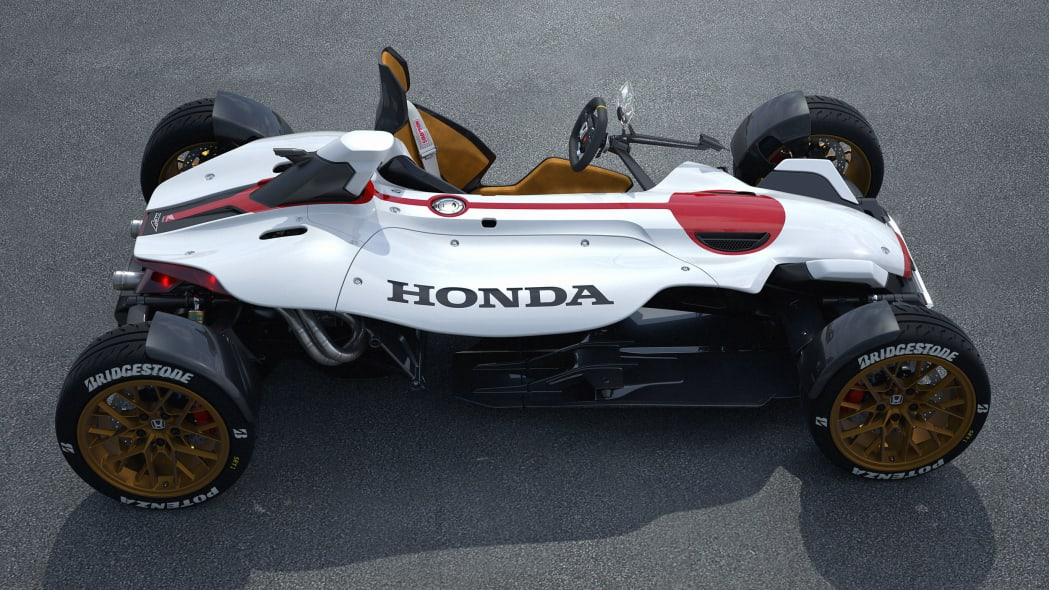 honda project 2 and 4 concept profile