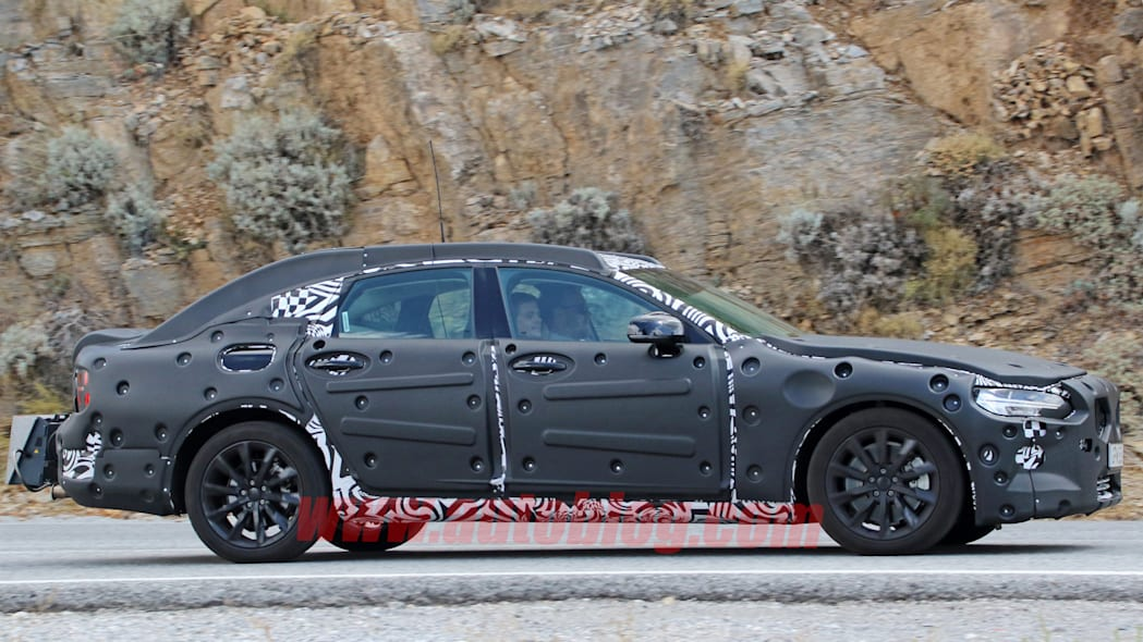 volvo profile camo s90 sideview diesel