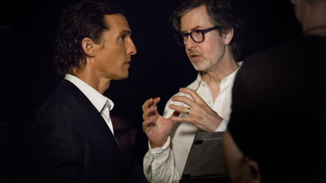 mcconaughey lincoln mkx ad making of
