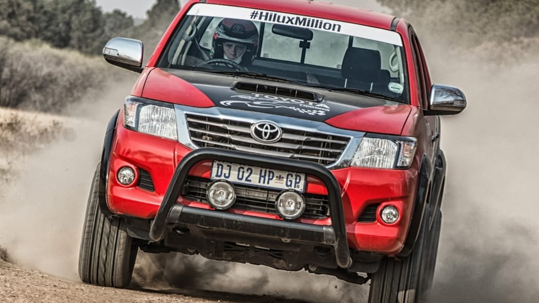 toyota hilux legend 45 on the trail