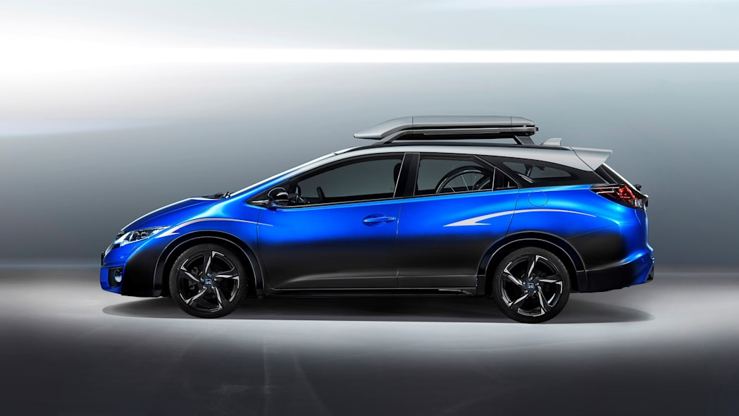 Honda Civic Tourer Active Life Concept profile